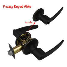 Entry Entrance Door Lock Set Handle Door Privacy Passage Bathroom Lever Latch