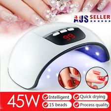 54W Professional LED UV Nail Dryer Gel Polish Lamp Salon Curing Manicure Machine