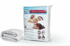 Hypoallergenic Waterproof Ultra Soft BedBug Zippered Mattress Cover Protectors