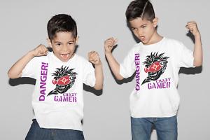 T-shirt Kids Gamer Xbox PS-4 Tops & Shirts