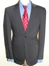 MENS STUNNING  TOM ENGLISH GREY PINSTRIPE  SUIT 38R ( 48R EUR) W32 x L30.5