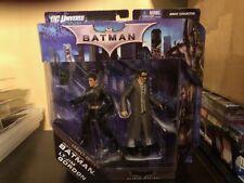 Batman Begins Prototype Suit & Jim Gordon Figure Dc Universe Legacy Edition
