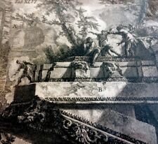 Giovanni Battista Piranesi Original Etching Reliquiae parietum Scalarum 1762