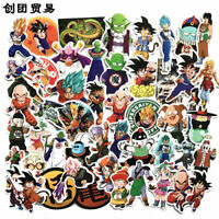 100pc Dragon Ball Z - Goku Super Saiyan Anime Decal Sticker for Suitcase CAR