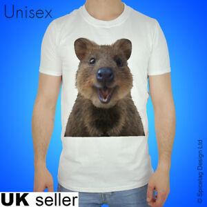 Quokka T-shirt The Happiest Animal In The World Tshirt Kangaroo Top Australia