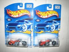 HOT WHEELS LOT OF TWO (2) HW 2000 FIRST EDITION BLAST LANE MOMC LOW US SHIP