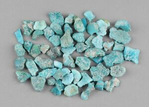 Fabulous Top Grade Quality 100/% Natural Tibetan Turquoise Fancy Shape Rough Drilled Gemstone For Making Jewelry 16 Ct 18X18X10 mm JMK-8335