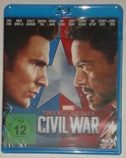 The First Avenger  - Civil War Blu Ray Captain America Teil 3 NEU ohne Folie