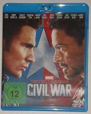 The First Avenger  - Civil War Blu Ray Captain America Teil 3