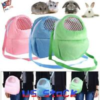 Small Pets Hamster Outdoors Bag Carrier Case Portable Sugar Glider Squirrel US