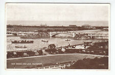 New Bridge And Lake Southport 1931 Valentines 213216 Old Postcard Unposted