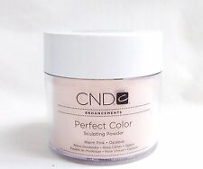 CND Creative Nail Powder Perfect WARM PINK  3.7oz/104g white lid @SALE@