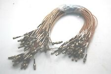 10x Microwave RF Coaxial Cable ~50cm SMB Female to SMA Female Connectors