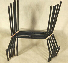 """Lot of Five! (5) XL Iron Easel Display Stands ** 6"""" x 3"""" x 5""""  ** HEAVY DUTY"""