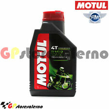 1 LITRO LUBRIFICANTE OLIO MOTORE MOTUL 5100 15W50 4T 100% SINTETICO MOTO