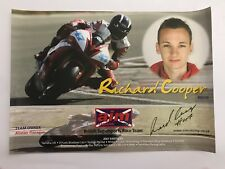 Richard Cooper Hand Signed BSB Poster.