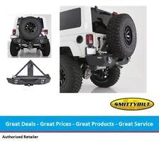 Smittybilt Jeep JK Wrangler XRC Rear Bumper & Tire Carrier Combo