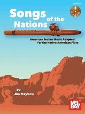 Chansons des nations-american indian music adapté pour flûte autochtone