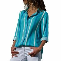 Womens Floral T-Shirt Loose Casual O Neck Elegant Top Tops Fashion Blouse