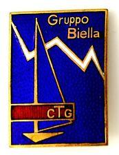 Spilla Montagna Gruppo Biella C.T.G. cm.3 x 4