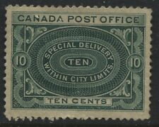 Canada 1898 10 cents Special Delivery mint o.g. heavy hinged