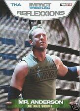 Mr Anderson TNA Impact Wrestling Sunday Reflexxions 2012 Trading Card #67 WWE