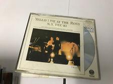 Yello  Single CD  Live at the Roxy N.Y. Dec. 83 VERTIGO  V NR MINT ALL ROUND