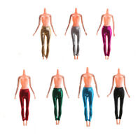 Elastic Candy Color Leather Bottom Pants For  Doll Clothes Trousers H .*SJCA