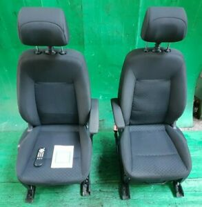 FORD GALAXY MK3 PAIR OF FRONT SEATS WITH DVD SCREENS DRIVER PASSENGER 2006-2010