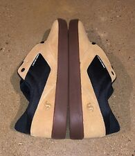 Dvs Pressure SC+ Size 11 US Men's Chamois Black BMX Skate Shoes Sneakers