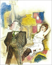 The Oscar Panizza   by George Grosz  Giclee Canvas Print Repro