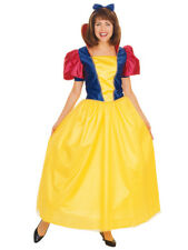 RUBIE'S DELUXE CLASSIC STORYBOOK SNOW WHITE ADULT COSTUME SIZE STANDARD 15069