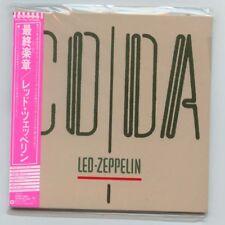 "LED ZEPPELIN ""CODA"" Japan Rare Out of Print OOP Mini-LP CD w/Obi New Sealed"