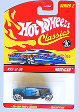 2005 Hot Wheels S2 Classics HOOLIGAN DieCast+Spectraflame ICY BLUE_J2779_MOC NEW
