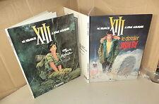 """2 E.O. de XIII par W. Vance et Van Hamme Dossier """"Jason Fly""""""""pour Maria"""""""