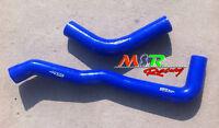 BLUE silicone radiator hose for Nissan Patrol GQ Y60 4.2 / Ford Maverick TB42