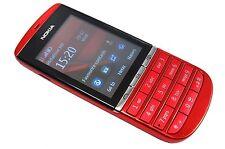 New Original Unlocked Nokia Asha 300 3000 3G 5MP Red Tocuh & Type Mobile Phone