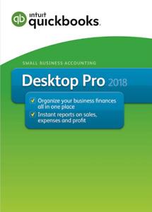 INTUIT ✔️ Quickbooks Desktop Pro 2018 ✔️ 75%OFF ✔️ Lifetime ✔️ 5 USER ✔️