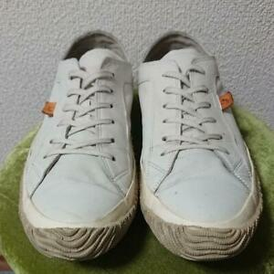SPINGLE MOVE Men's Leather Sneakers White Size LL(US Size About 9.5)