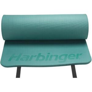 "Harbinger 5/8"" Ribbed Durafoam Fitness Mat - Green"