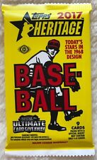 2017 Topps Heritage HOBBY Pack (Aaron Judge Rookie Real One Red Ink Auto Blue)?