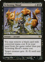 1X FOIL Sickening Shoal MTG Magic BETRAYERS OF KAMIGAWA 82/165