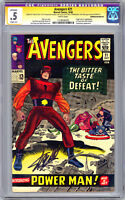 AVENGERS #21 CGC-SS 0.5 *SIGNED BY STAN LEE* JACK KIRBY ART RESTORED GRADE 1964