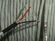 40 FT 18/3 STJ 200*C PTFE Ag/Cu High Temperature Teflon Cable w/ Shield / Ground