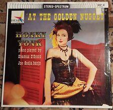 "SHAMUS O'GOULD & JOE SODJA ""At The Golden Nugget"" Vinyl Record LP HONKY TONK"