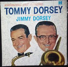 TOMMY DORSEY - SENTIMENTAL AND SWINGING )WITH JUMMY DORSEY) VINYL LP AUSTRALIA