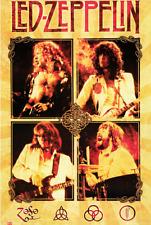 Led Zeppelin Poster 24 x 36 Classic Rock Music Memorabilia Band Print New