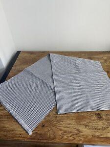 Brioni Shawl Scarf 100% Silk  30cm x 180cm White/Grey/Blue BNWT RRP £420