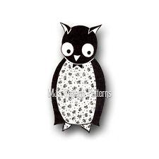 Vintage OWL Stuffed Animal Pattern ~ SUPER RARE
