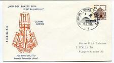 1965 Gemini-Kapsel 100 Jahre UIT/ITU Fernmelde Union Berlin Sonderschau SPACE
